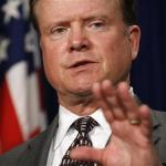 Jim Webb speaks about his bill about Iran in Washington