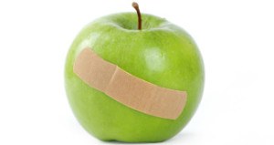 bruised-apple-band-aid